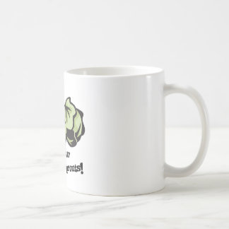 eat your brussels sprouts coffee mug