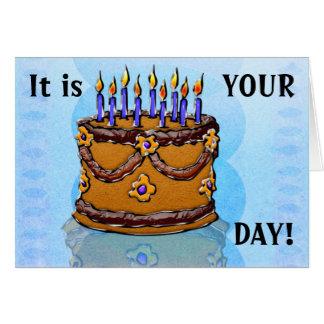 Eat Your Cake #3 (Birthday Card) Card