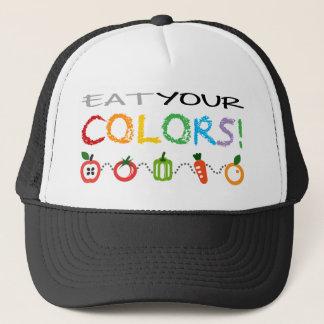 Eat Your Colors Trucker Hat