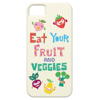 Eat Your Fruit and Veggies 1  iPhone 5 case