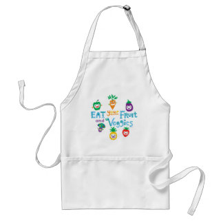 Eat your fruit and Veggies ll Adult Apron