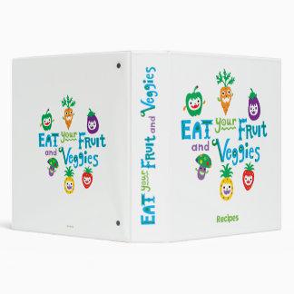 Eat Your Fruit & Veggies 2 recipe binder