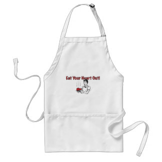 Eat Your Heart Out_2 Adult Apron