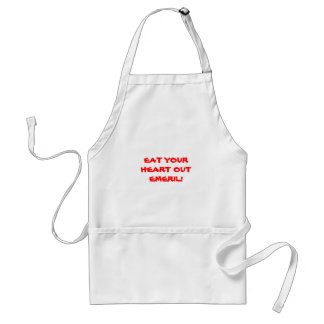 EAT YOUR HEART OUT EMERIL! ADULT APRON