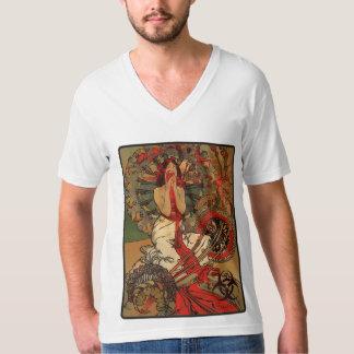 Eat Your Heart Out! Zombie Nouveau (White V-Neck) T-Shirt