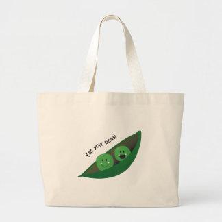 Eat Your Peas Bag