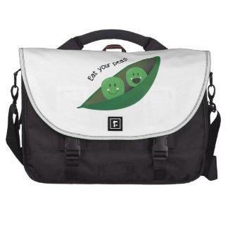 Eat Your Peas Laptop Commuter Bag