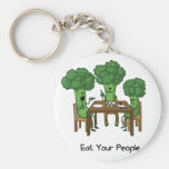 Eat Your People Keychains