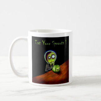 eat your sprouts mug