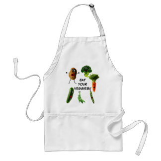 Eat Your Vegetables Adult Apron