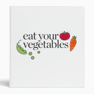 Eat Your Vegetables Binder