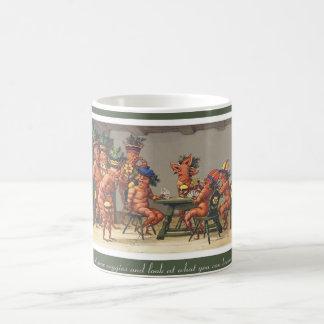 Eat Your Vegetables Funny Vintage Coffee Mug
