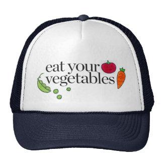 Eat Your Vegetables Trucker Hat
