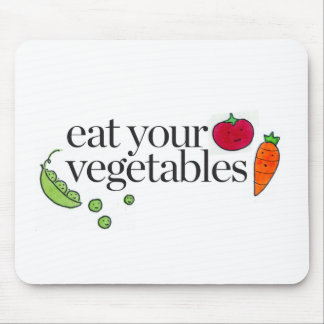Eat Your Vegetables Mouse Pad