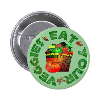 Eat Your Veggies Pin