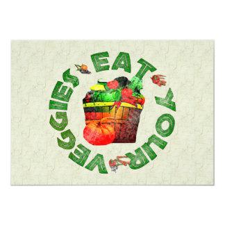 Eat Your Veggies Card
