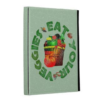Eat Your Veggies iPad Folio Cover