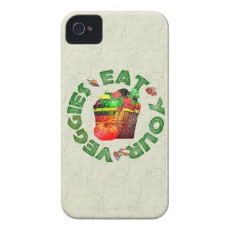 Eat Your Veggies iPhone 4 Case-Mate Case