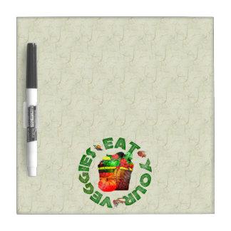 Eat Your Veggies Dry Erase Board