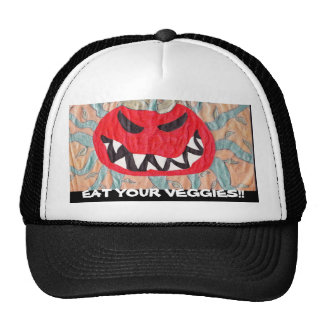 EAT YOUR VEGGIES!! TRUCKER HAT
