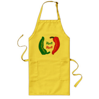 Eat Your Veggies Hot Chili Jalapeño Peppers Apron