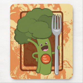 Eat your veggies! mouse pad