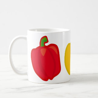 Eat Your Veggies Peppers Coffee Mug
