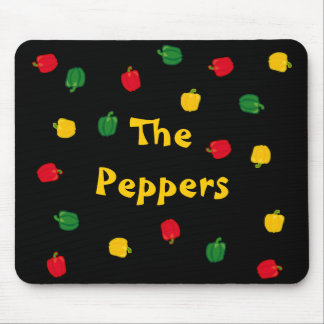 Eat Your Veggies The Peppers Mousepad