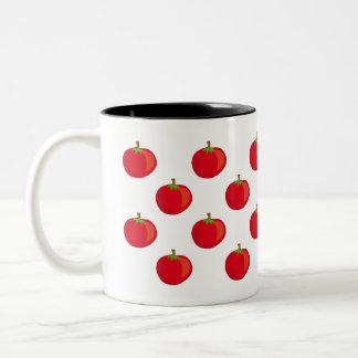 Eat Your Veggies The Tomato Pattern Coffee Mug