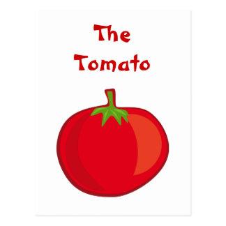Eat Your Veggies The Tomato Postcard