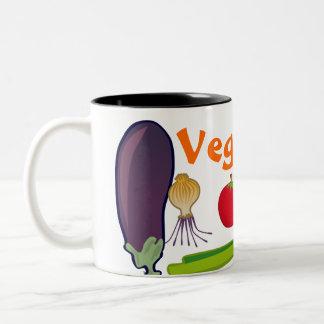 Eat Your Veggies Vegetarian Pride Coffee Mug