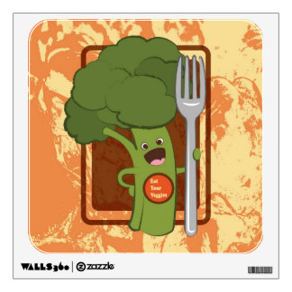 Eat your veggies! wall sticker