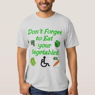 Eat your Vegi's! (Light) T Shirt