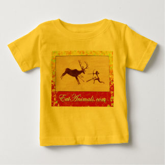 EatAnimals.com Autumn logo on Infant Creeper