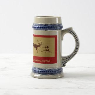 EatAnimals.com Classic Stein Coffee Mug