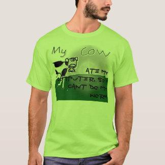 Eaten homework or eaten computers T-Shirt
