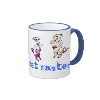 Eater Elephants Ringer Mug