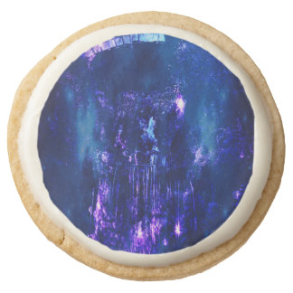 Eathereal Falls Round Shortbread Cookie