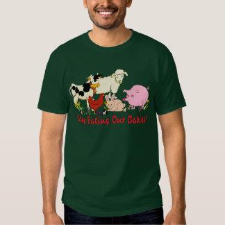 Eating Animal Babies T-shirt