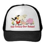 Eating Animal Babies Trucker Hat