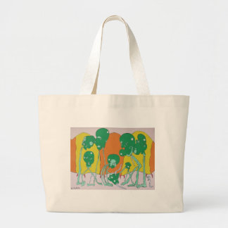 Eating Arnold Large Tote Bag