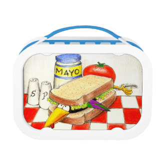 Eating crow sandwich Lunch Box