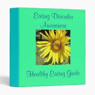 Eating Disorder Awareness, Healthy...Binder Binder