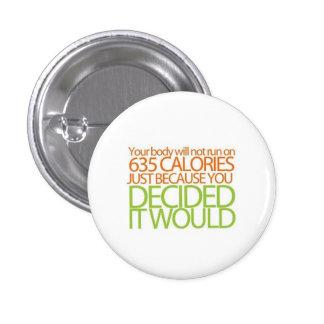 Eating Disorder Awareness Pinback Button