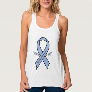Eating Disorders Awareness Flowy Racerback Tank Top