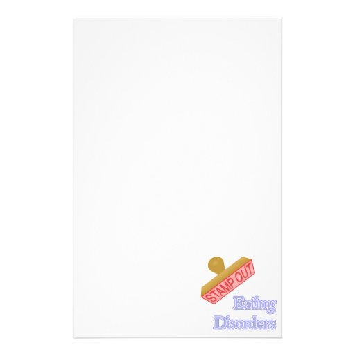 Eating Disorders Stationery