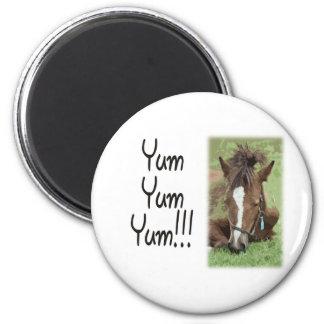 Eating Foal - Yum Yum Yum Magnet