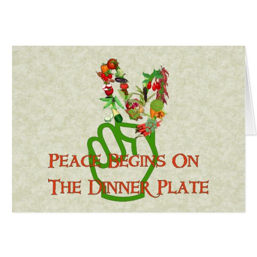 Eating For Peace Cards