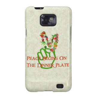 Eating For Peace Galaxy S2 Case