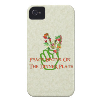 Eating For Peace Case-Mate iPhone 4 Cases